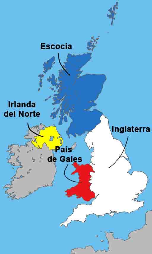Quelle est la différence entre la Grande-Bretagne, le Royaume-Uni et l'Angleterre