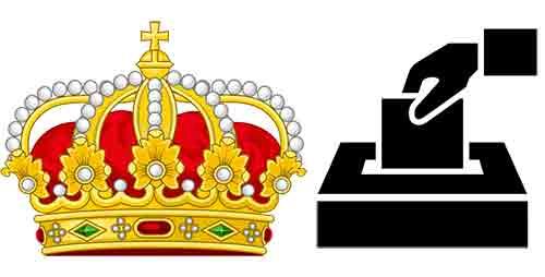Quelle est la différence entre monarchie et démocratie