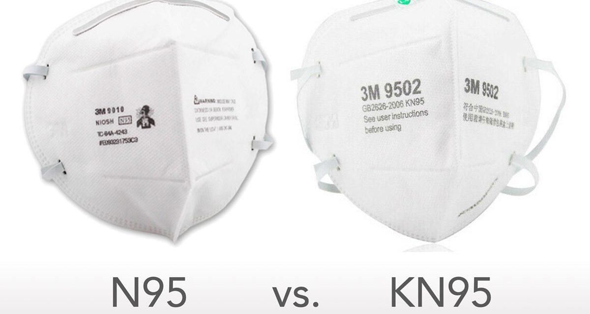 Quelle est la différence entre les écrans faciaux N95 et KN95