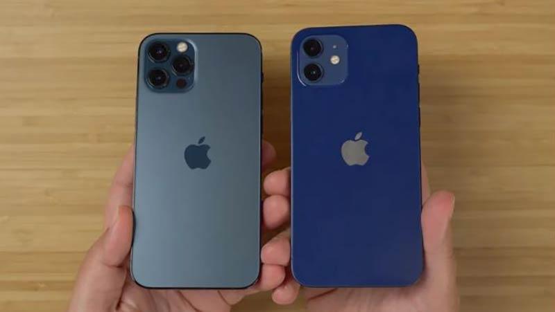 Quelle est la différence entre l'iphone 12 et l'iphone 12 Pro