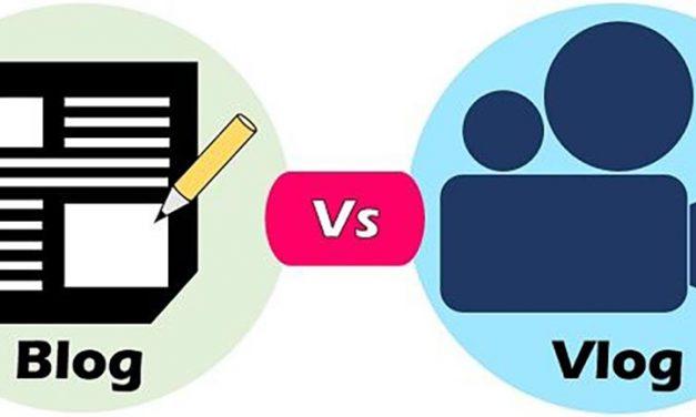 Quelle est la différence entre blog et vlog